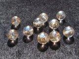 シャンパンオーロラクリスタル(水晶)  10mm ラウンドビーズ