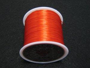 画像2: 水晶の線 ・オペロンゴム 切り売り(1m〜) 赤