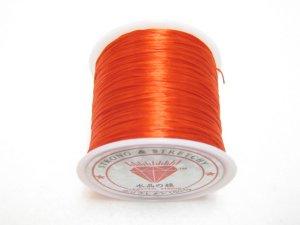 画像1: 水晶の線 ・オペロンゴム 切り売り(1m〜) 赤