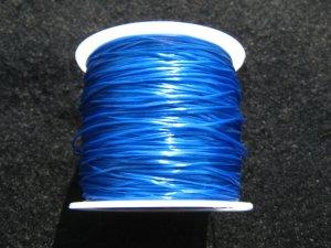 画像2: 水晶の線 ・オペロンゴム 切り売り(1m〜) 青