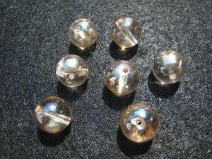 画像3: シャンパンオーロラクリスタル(水晶)  10mm ラウンドビーズ アウトレット
